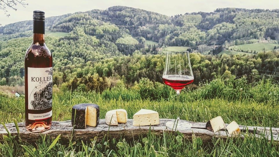 Foto Wein und Käse